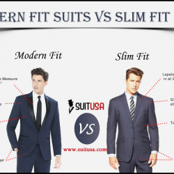 Modern Fit Suits Vs Slim Fit Suit | Visual.ly