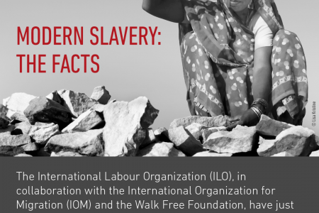 Modern Slavery - The Facts (2017) Infographic