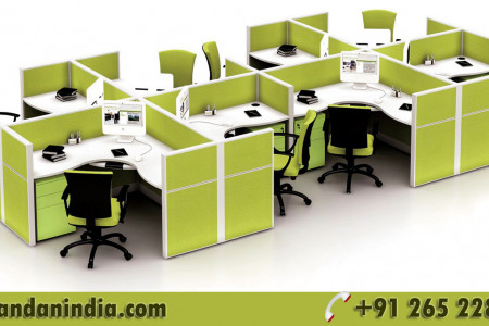 Modular Office Furniture Infographic
