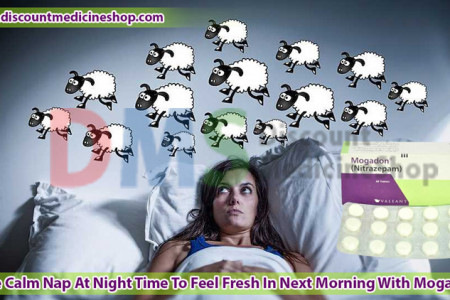 Mogadon 10 mg (Nitrazepam) Is Best Short-Term Treatment Of Insomnia Infographic