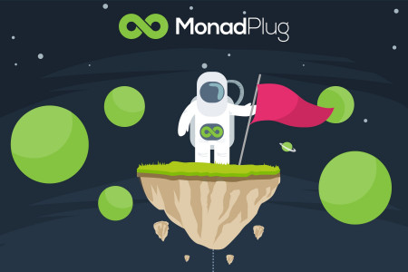 MonadPlug RTB Monetization Network Infographic