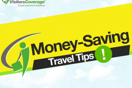 Money Saving Travel Tips: Save Money on your next Trip Infographic