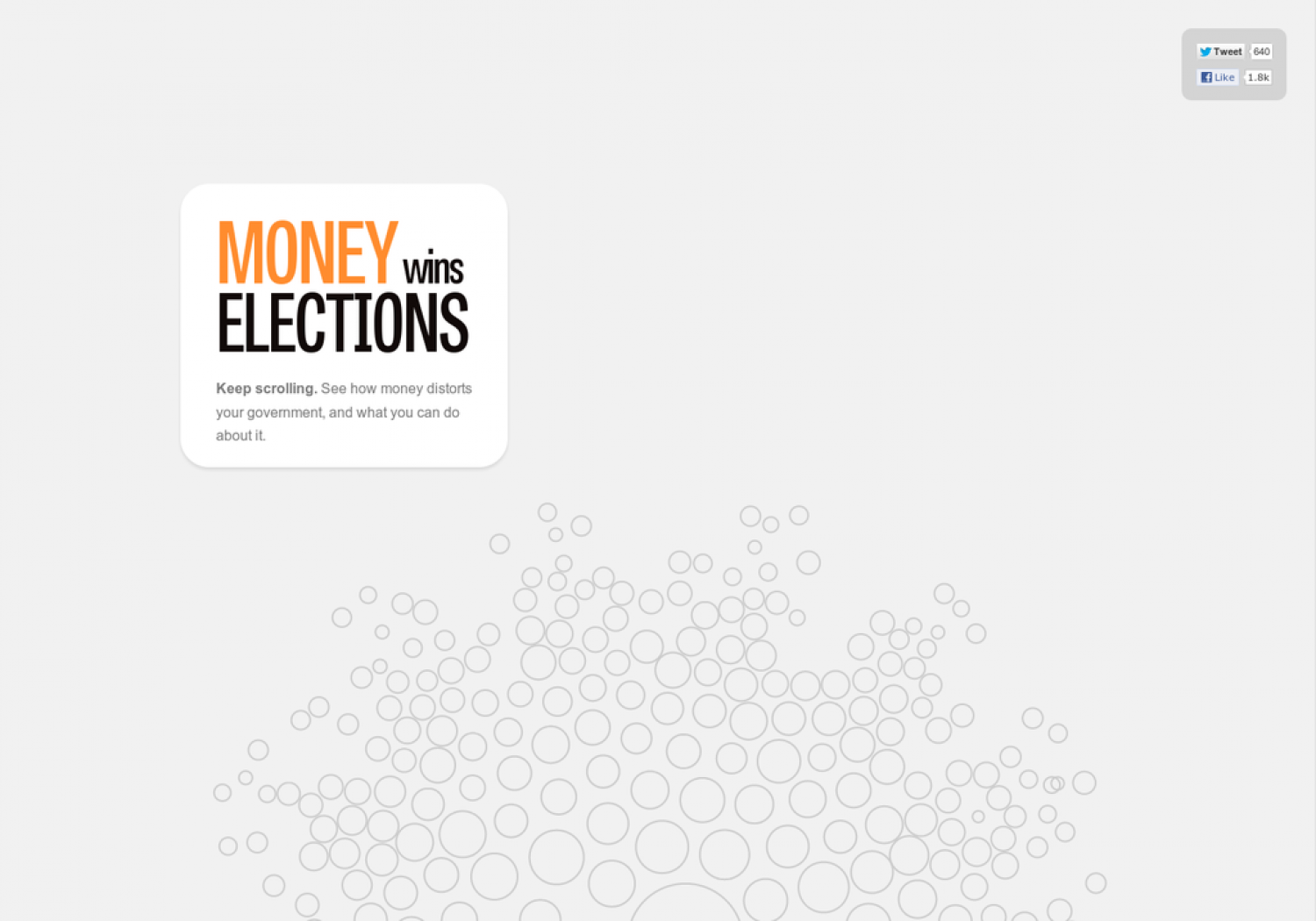 Money Wins Elections Infographic