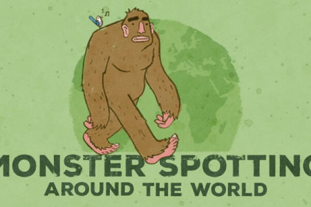Monster Spotting: Bigfoot Infographic