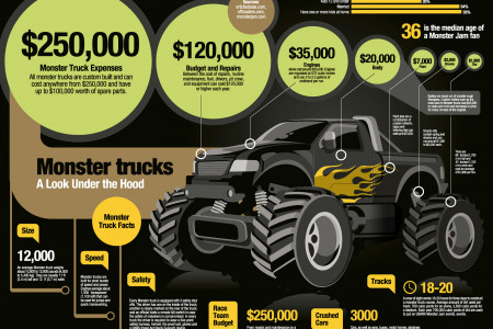 Monstertruck Infographic
