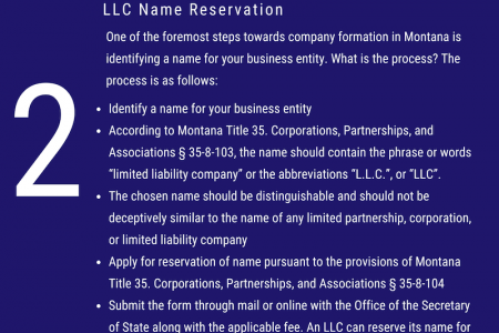 Montana LLC Registration and Formation | IncParadise  Infographic