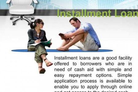 Monthly Installment Loans Get Loans Online Anytime Anywhere Infographic