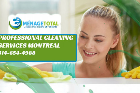 Montreal Cleaning Services Infographic