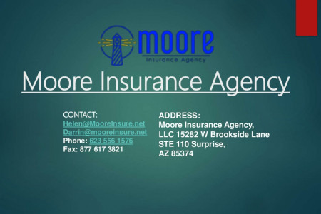 Moore Insurance Agency | Best Insurance Agency In Arizona Infographic