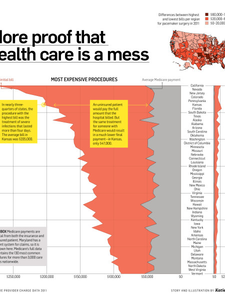 More Proof That Health Care is A Mess Infographic