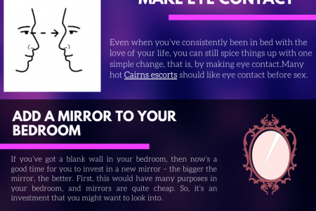 Most  Affective Ways To Spice Up The Bedroom Infographic