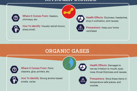 Most Common In-Home Sources of Air Pollution Infographic