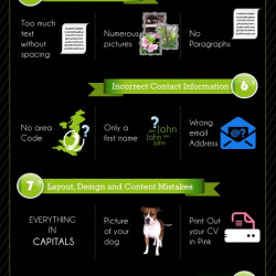 most funny mistakes made in resume or cv visual ly