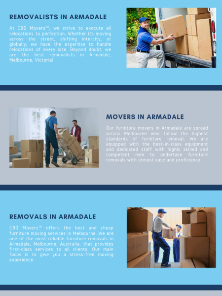 Most Reliable Removals Services in Armadale Infographic