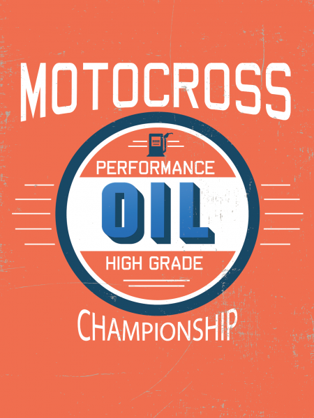 Motocross Performance Oil Infographic