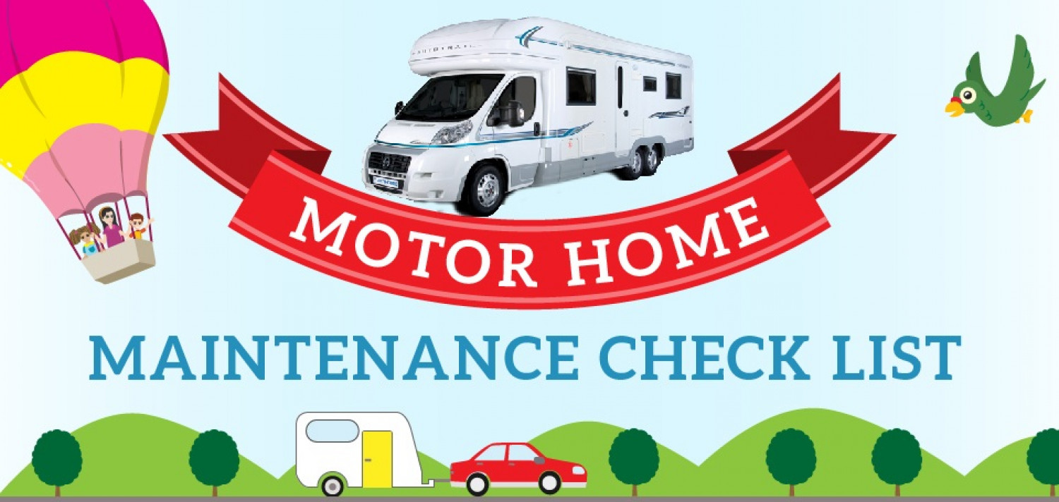Motorhome Maintenance Checklist Infographic