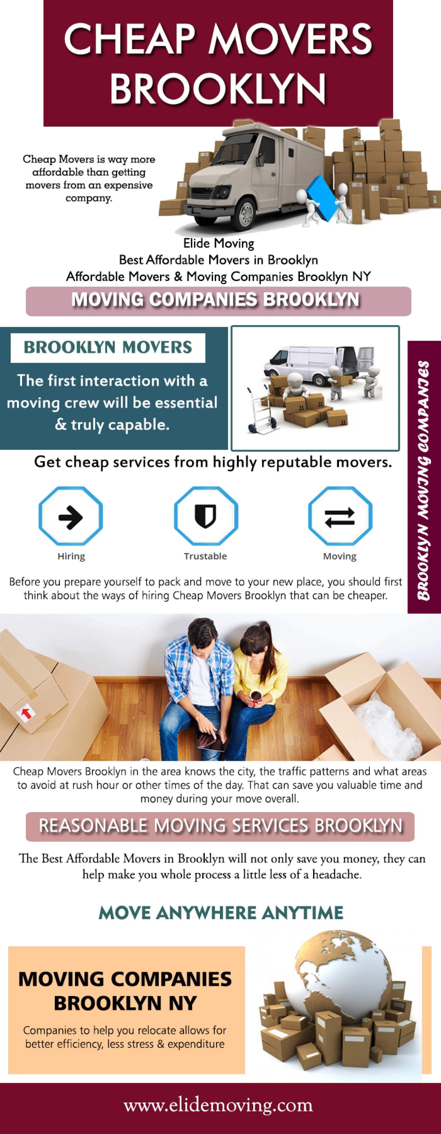 Movers Brooklyn Infographic