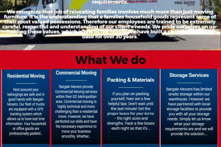 movers company kensington md Infographic