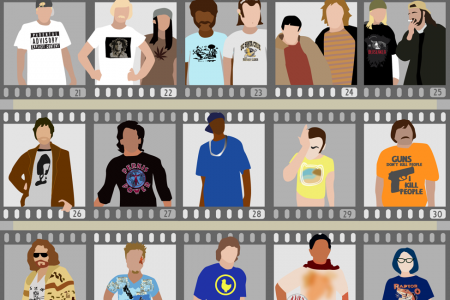 Movie T-Shirt Anthology Infographic