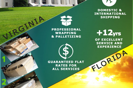 Moving and Shipping Solutions Infographic