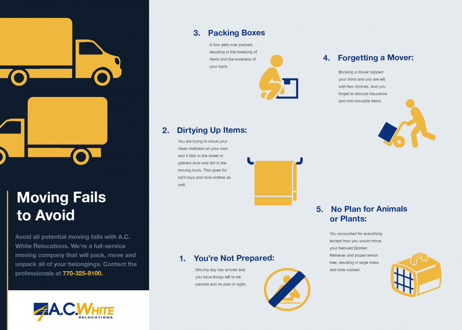 Moving Fails to Avoid Infographic