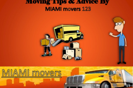 Moving Tips & Advice by Miami Movers 123 Infographic