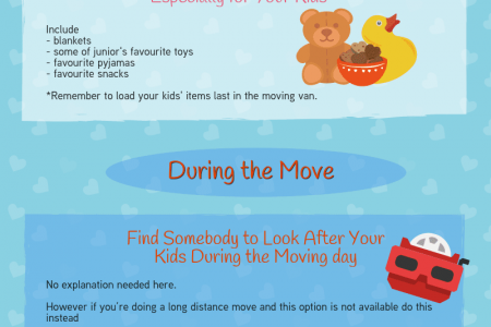 Moving With Kids: Tips You Must Know Infographic