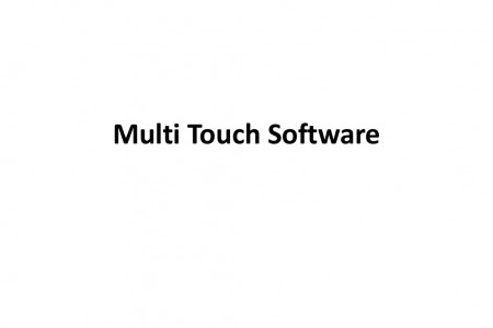Multi Touch Technology | Multi Touch Software Infographic