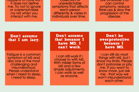 Multiple Sclerosis Etiquette Guide Infographic