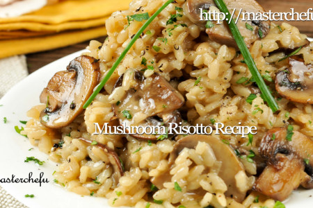 Mushroom Risotto  Infographic