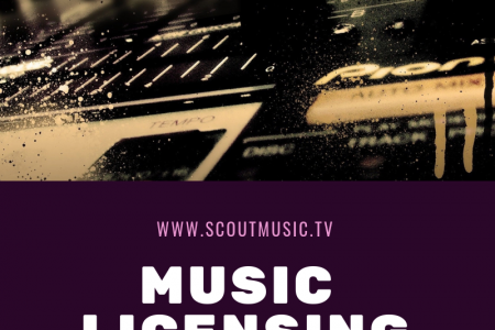 Music Licensing website Infographic