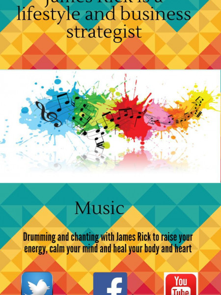 Music with james rick Infographic