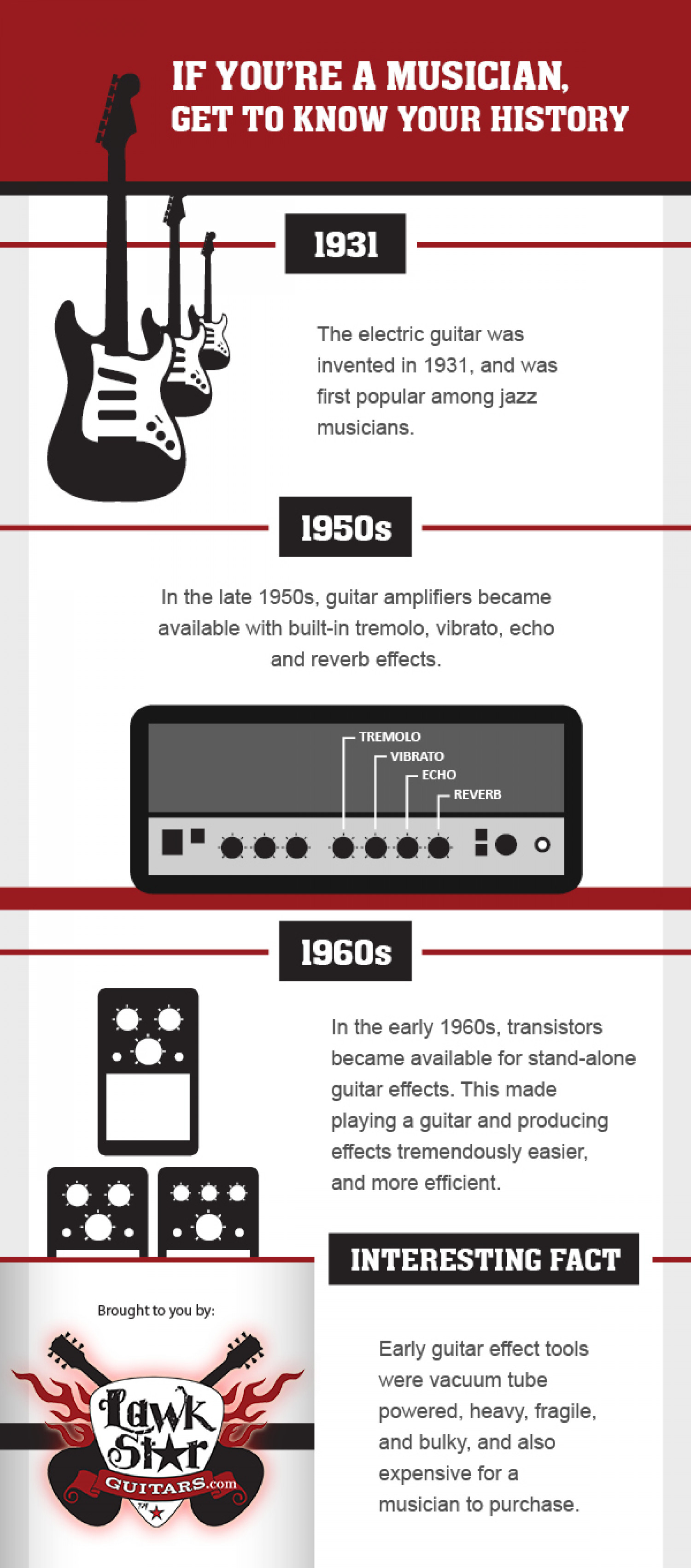 Musical History Infographic