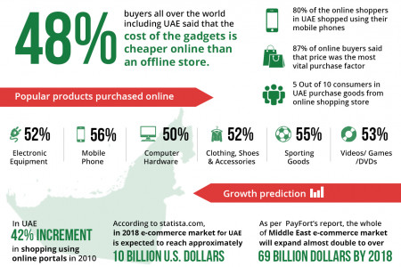 Must Know Facts Related To Online Shopping in UAE Infographic