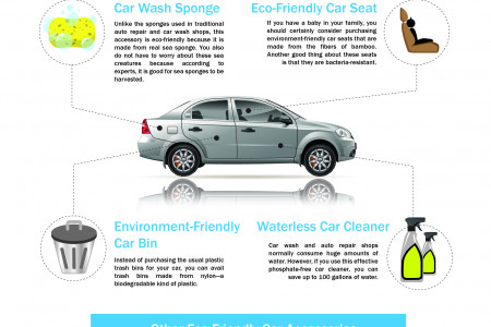 Must-Have Environmentally Friendly Accessories for Your Automotive Infographic