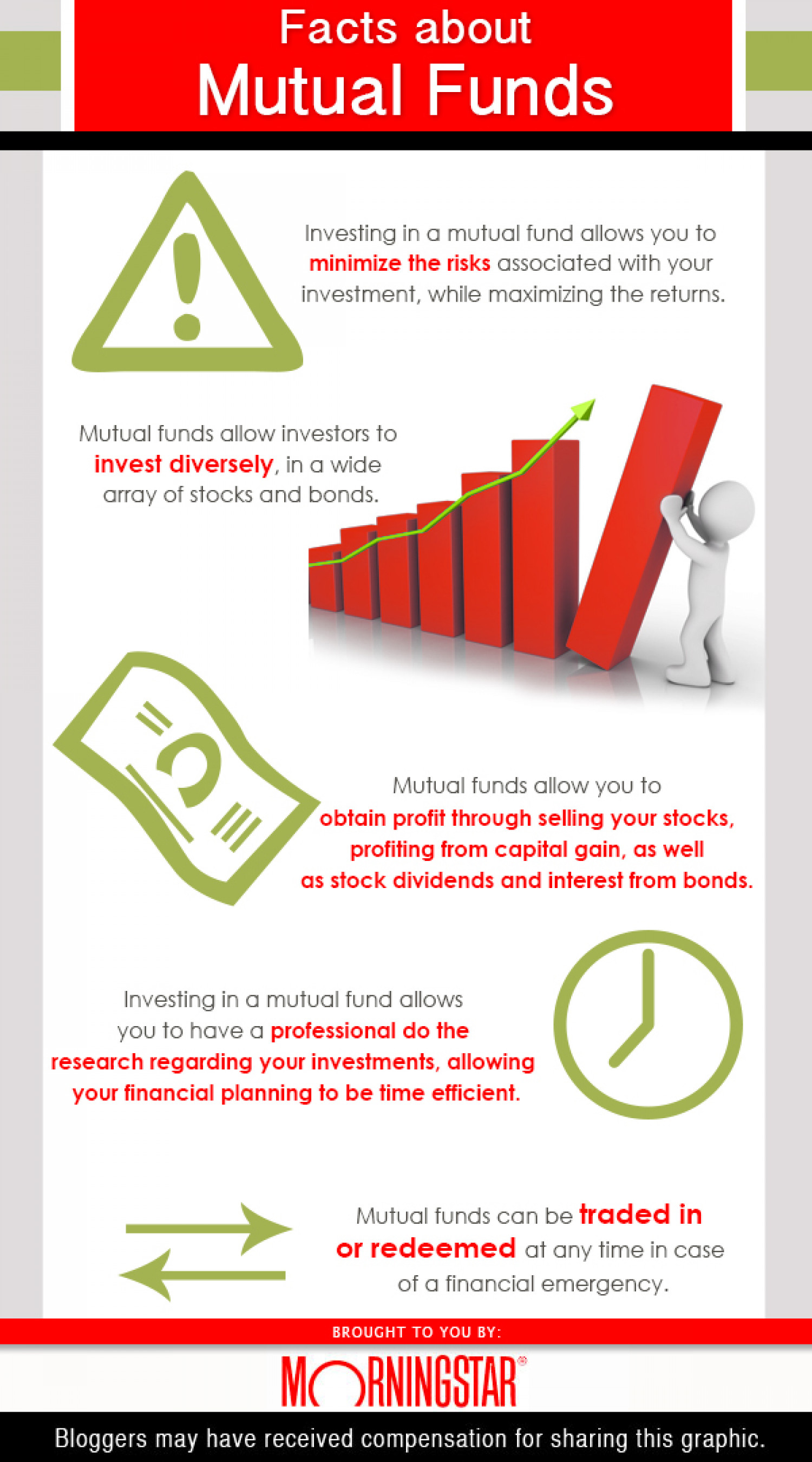 Facts About Mutual Funds Infographic