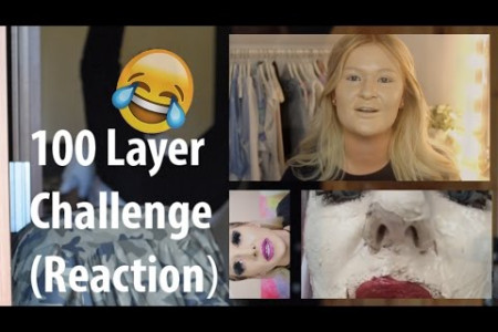 My first Video!! 100 Layer Challenge Infographic