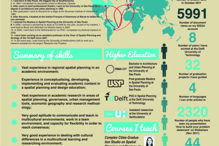 Infographic Resume Infographics  VisualLy