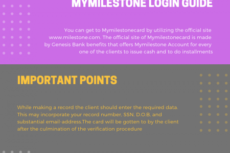 Mymilestonecard | Registration process guide Infographic