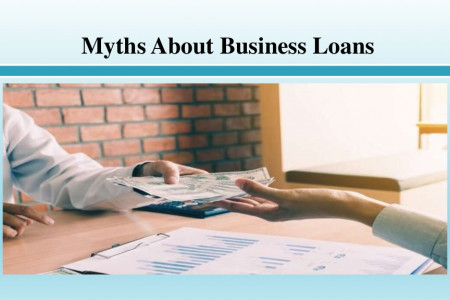 Myths About Business Loans Infographic