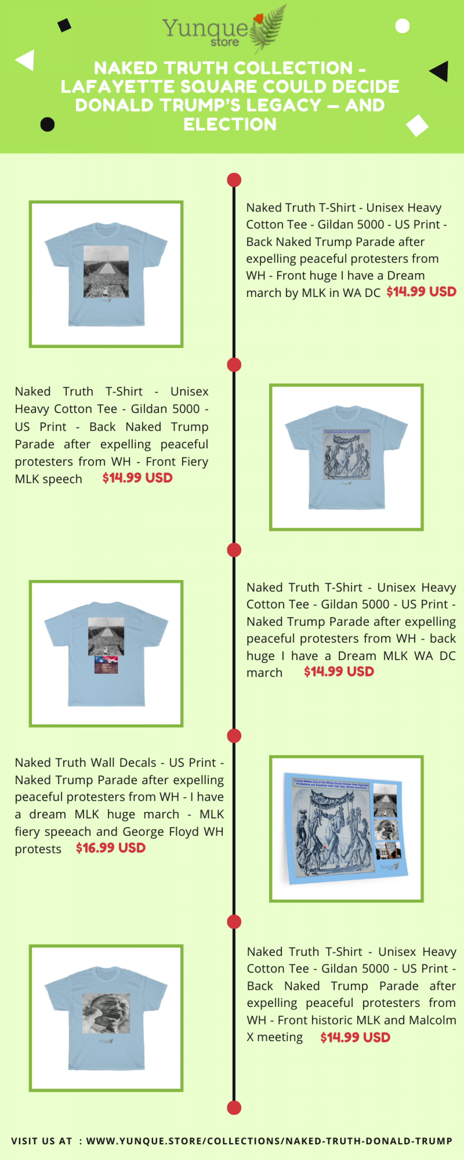 Naked Truth Collection - Lafayette Square could decide Donald Trump's legacy Infographic