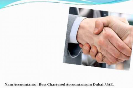 Nam Accountants & Audit firm for LLC, Offshore company formation, incorporation business setup in Dubai, UAE Infographic