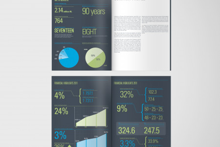 Namibia Breweries Annual Report (Print) Infographic