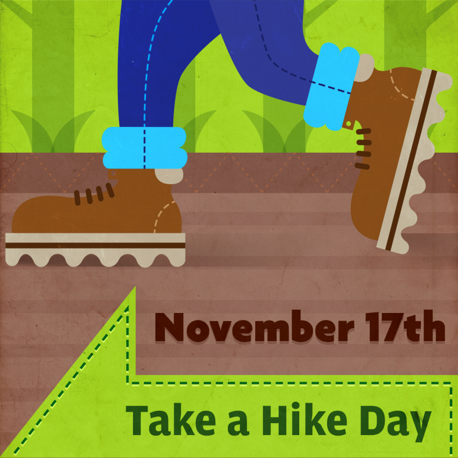 National Take a Hike Day Infographic