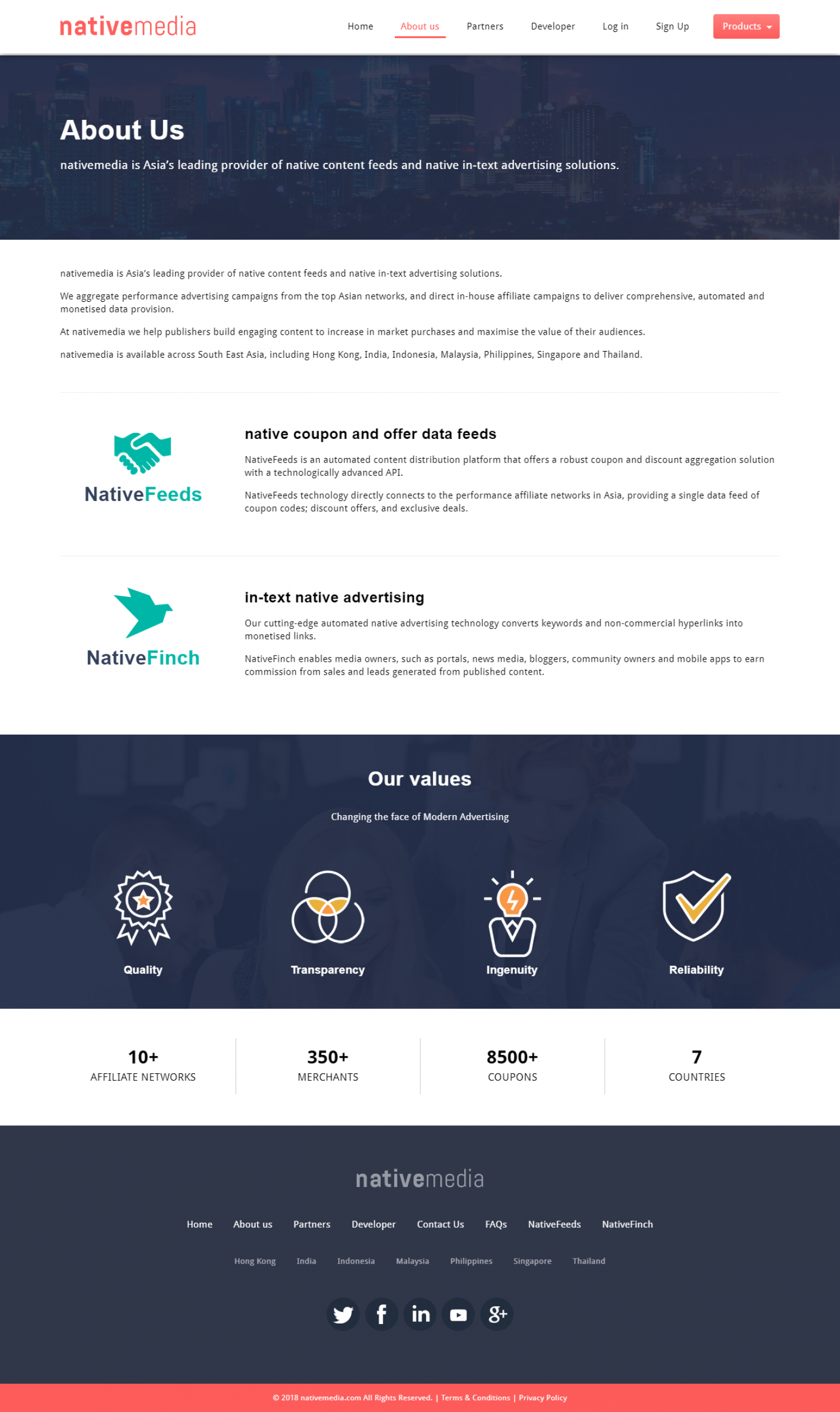 NativeMedia - Coupon Data API Provider for Websites Infographic