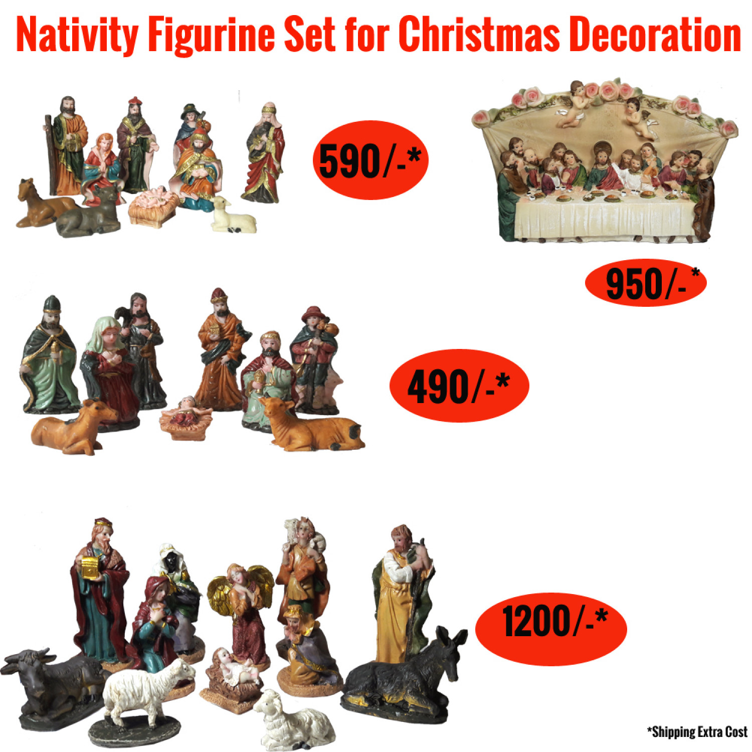 Nativity set Infographic