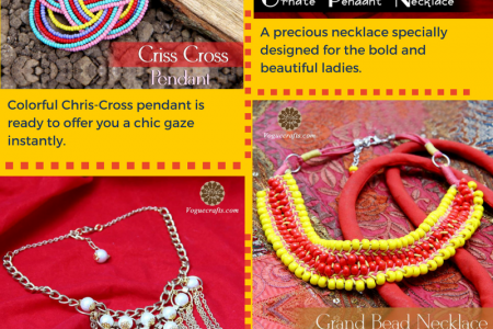 Necklace- Summer Collection of Fashion Jewelry Infographic