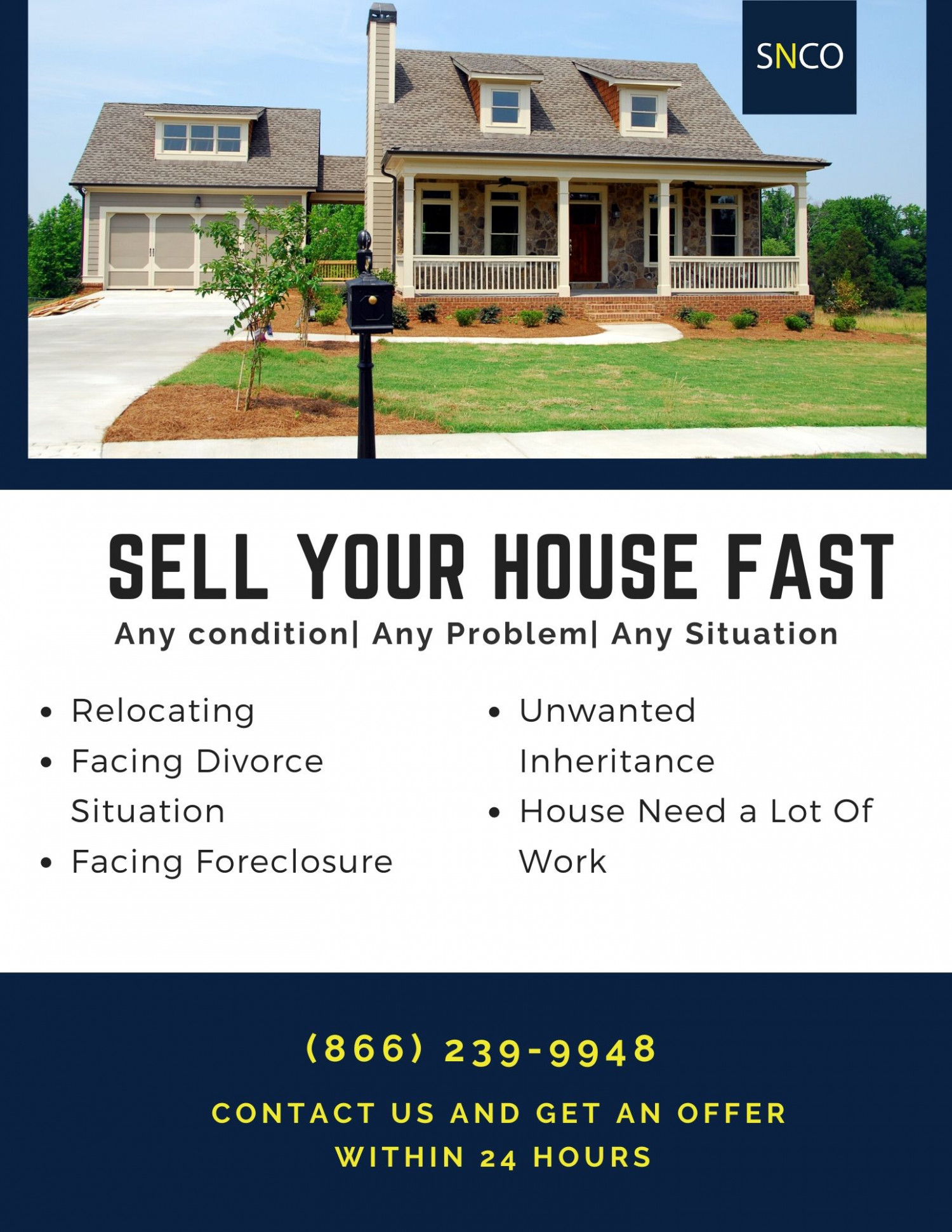 Need to Sell your house fast in Phoenix?  Infographic