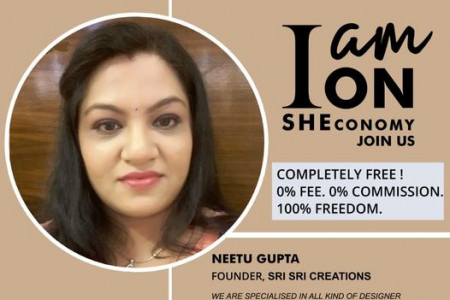 Neetu Gupta Is on SHEconomy Infographic