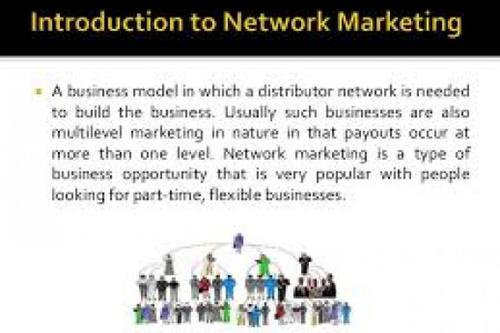 Network Marketing  Infographic
